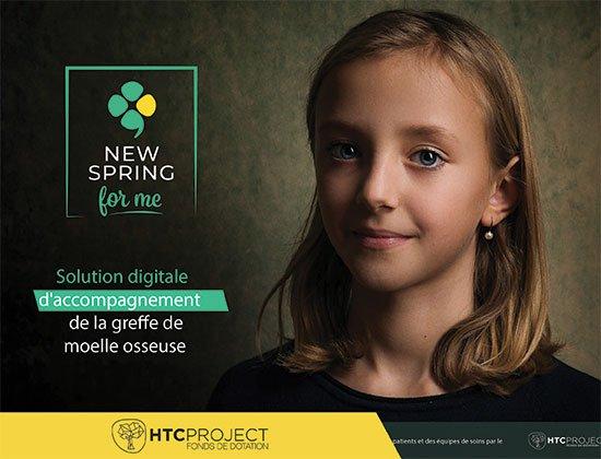 La brochure de présentation du projet NewSpringForMe (2020)